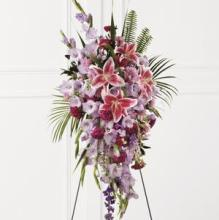 Tender Touch Standing design of pinks lavenders