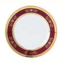 Orsay Red Salad Plate