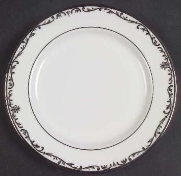 Coronet Platinum Bread and Butter Plate