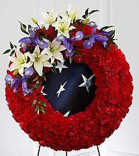 The To Honor Their Country Wreath