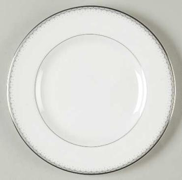 Dentelle Bread and Butter Plate