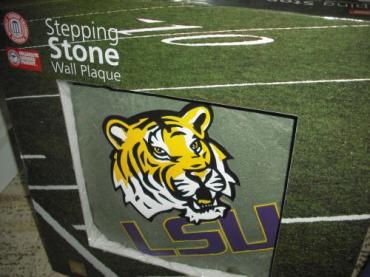 LSU Stepping Stone Wall Plaque