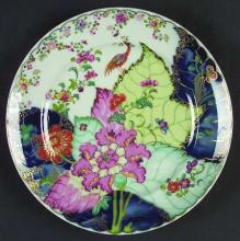 Tobacco Leaf Salad Plate