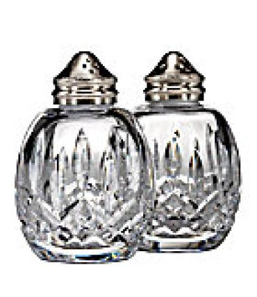 WATERFORD Set Lismore Salt and Pepper
