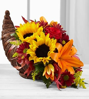 Fall Harvest Cornucopia by Better Homes and Gardens 2012