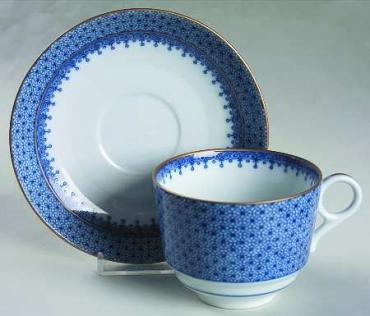 Blue Lace Cup & Saucer