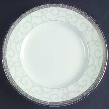 Celestial Platinum Bread and Butter Plate