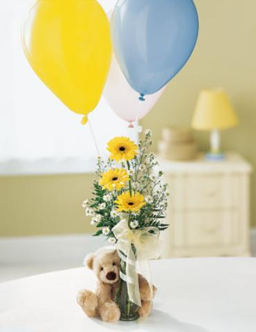 "Welcomeâ""¢ Bear Bouquet"