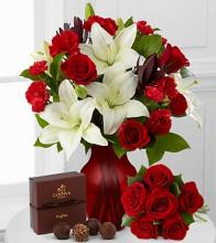 FTD Hearts in Harmony Bouquet & Chocolates