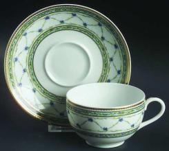 Allee du Roy Tea Cup and Saucer