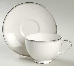 Dentelle Tea Cup and Saucer