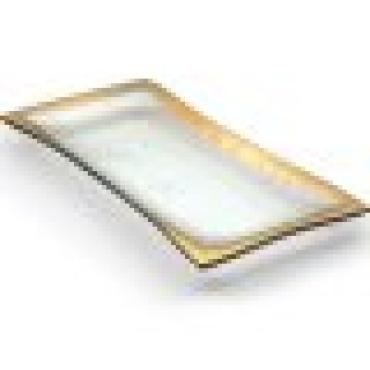 Roman Antique Gold Olive Tray
