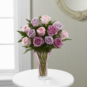 Mothers Day Mixed Pastel Roses