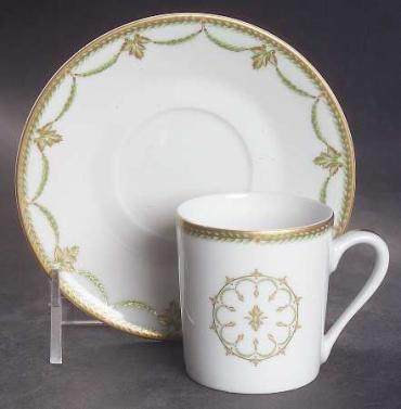 Sully Green Tea Cup and Saucer