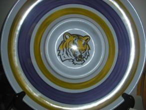 LSU Dip Serving Tray