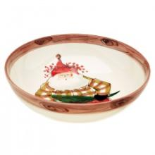 Vietri Old St. Nick serving bowl