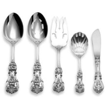Francis I 5 Piece Hostess Set