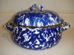 Cobalt Swirl Dutch Oven