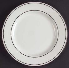 Federal Platinum Bread and Butter Plate