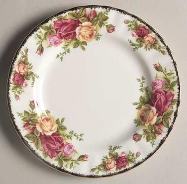 Old Country Roses Bread and Butter Plate