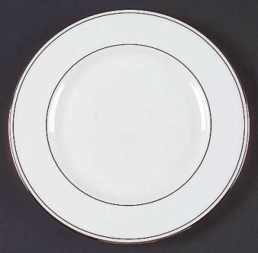 Federal Platinum Salad Plate