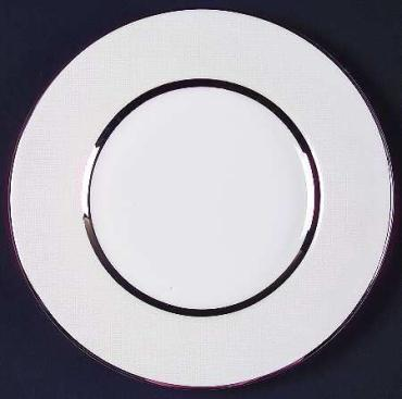 Platinum Silk Salad Plate