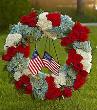 To Honor One\'s Country Wreath
