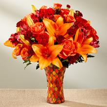 The FTD Autumn Splendor Bouquet