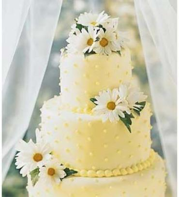 Daisy Delight Cake Decoration
