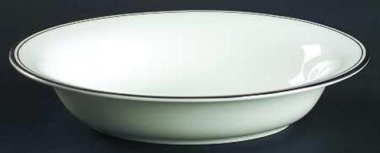 Kilbarry Platinum Open Vegetable Bowl