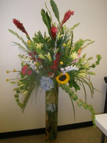 Tall Tropical Arrangement