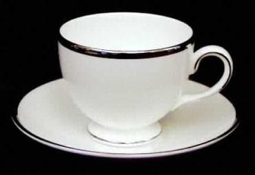 Sterling Tea Cup and Saucer