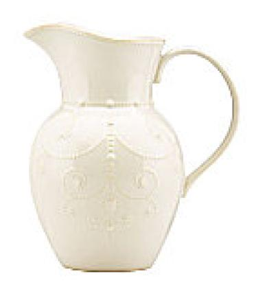 French Perle pitcher