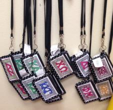 ID Holders for Sorority girls