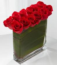 The Eloquent Red Rose Bouquet