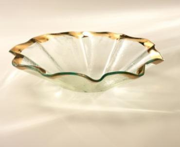 Ruffle Oval Deep bowl