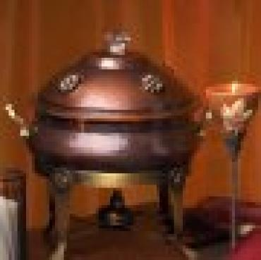 Large Copper 8QT Chafing Dish