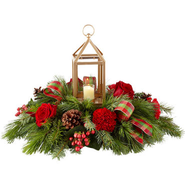 I\'ll Be Home for Christmas Centerpiece