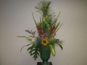 Arrangement in Decorative Urn