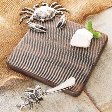 Small Crab Cutting Board Set