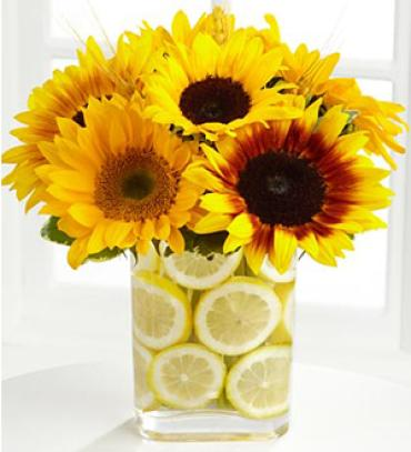 Sunflowers and Lemons