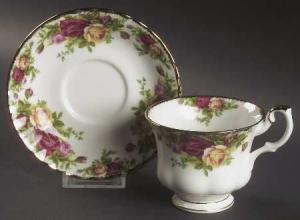 Old Country Roses Tea Cup and Saucer