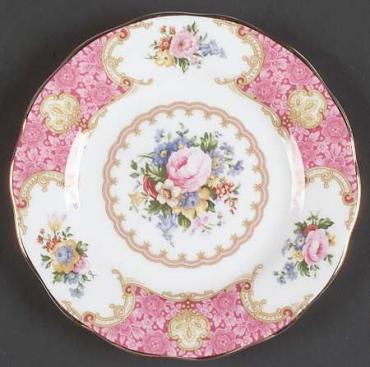 Lady Carlyle Bread & Butter Plate