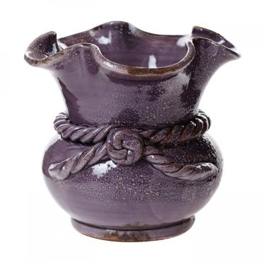 purple cache pot