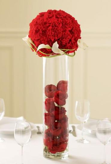 Rose Topiary Centerpiece