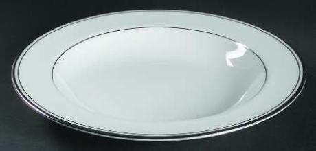 Kilbarry Platinum Rim Soup Bowl