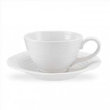 Sophie Conran White Jumbo Cup and Saucer