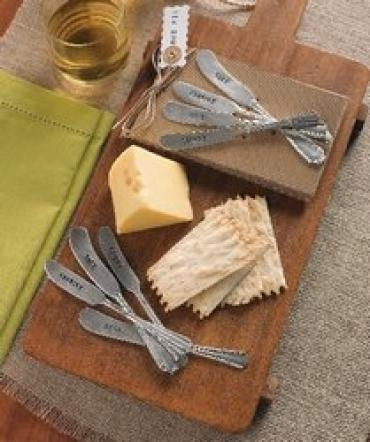 Four Piece Cheese Spreader Set