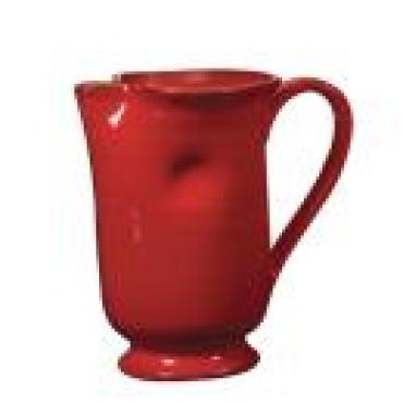 Rosso Vecchio Large Footed Pitcher