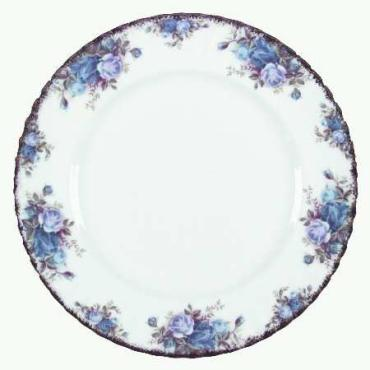 Moonlight Rose Dinner Plate